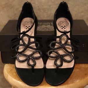 Vince Camuto Harrisa Gladiator Leather Sandal 6.5M